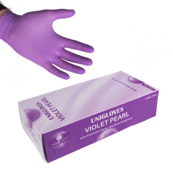 gloves-unicare-nitrile-violet